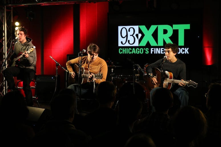 Twin Peaks performs live in concert at WXRT.