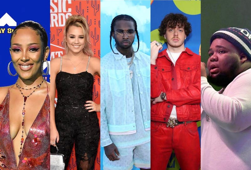 2021 Billboard Music Award Best New Artist Nomiees
