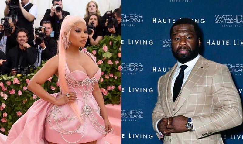 Nicki Minaj 50 Cent