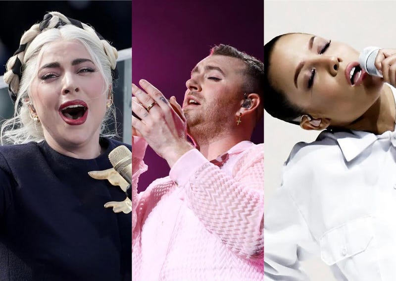 Lady Gaga, Sam Smith, Halsey