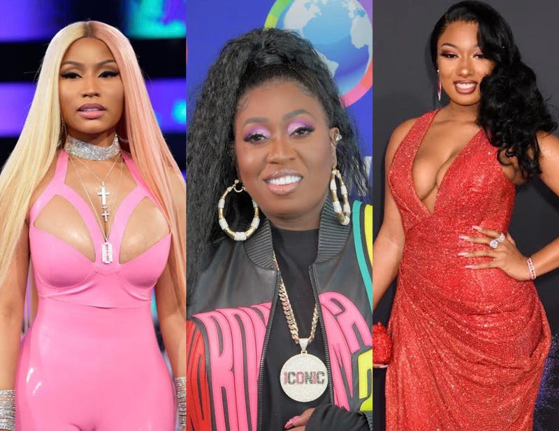 Nicki Minaj, Missy Elliott, Megan Thee Stallion