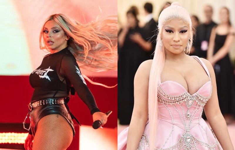 Jesy Nelson, Nicki Minaj
