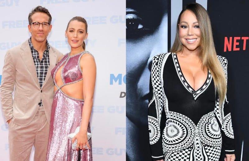 Ryan Reynolds, Blake Lively, Mariah Carey
