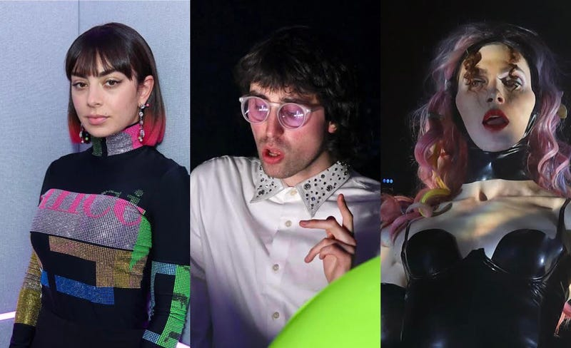 Charli XCX, A.G. Cook. SOPHIE
