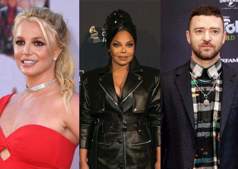 Justin Timberlake, Britney Spears, Janet Jackson