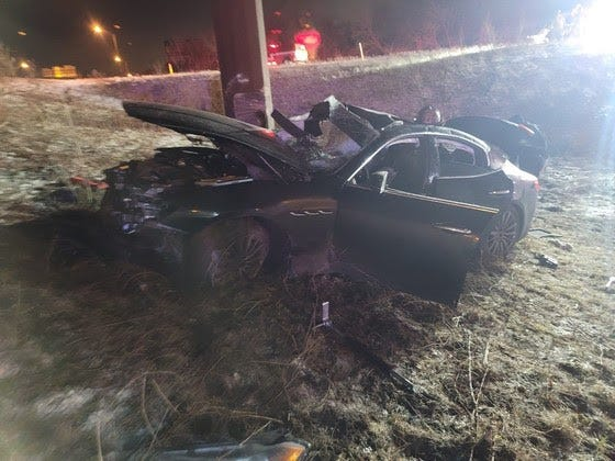 A man was killed and two other injured in a crash Jan. 18 on I-65.