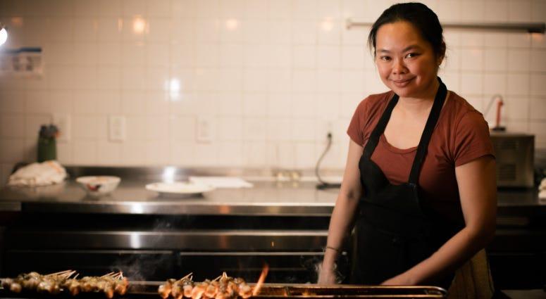 Angelina Branca, owner and chef of Saté Kampar