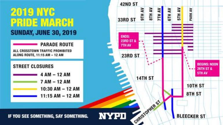 NYPD Pride Parade
