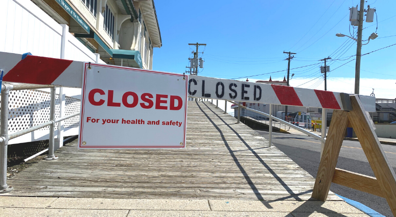 Ocean City beach closed due to coronavirus
