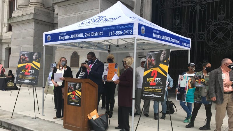 Councilmember Kenyatta Johnson discusses creating an Office of the Victim Advocate