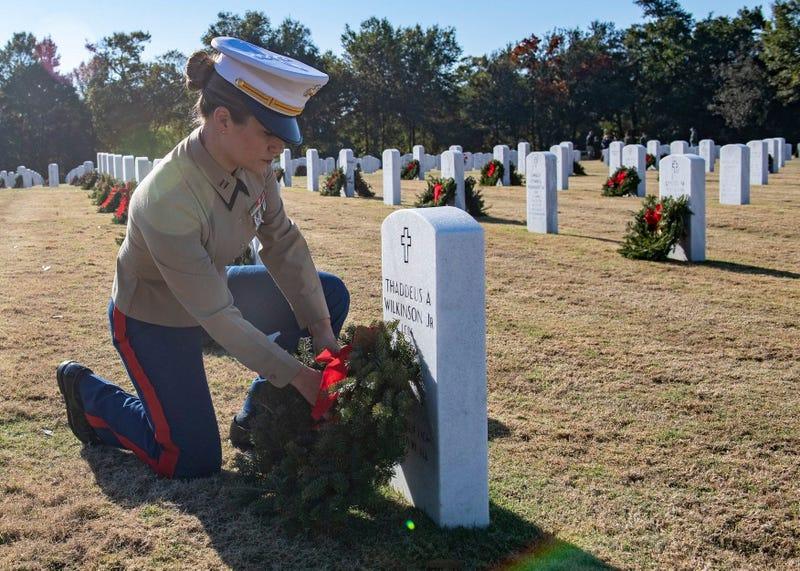 NAS Pensacola Wreaths Across America