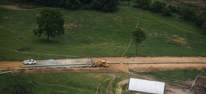 Construction for the Sunoco Mariner East pipeline.