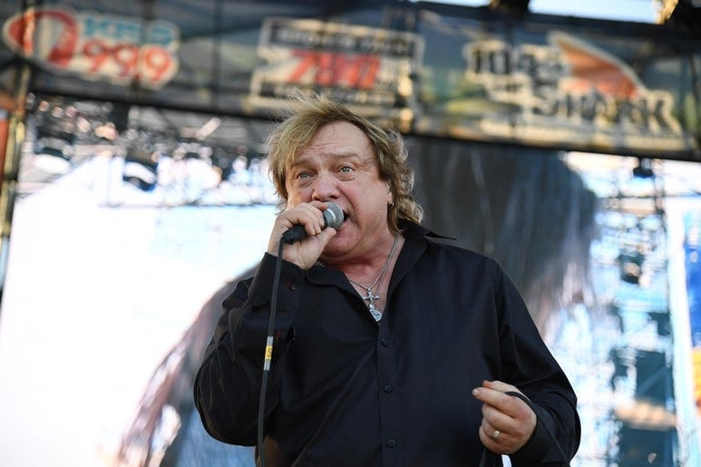 Foreigner's Lou Gramm