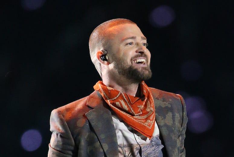 Justin Timberlake, Halftime, Super Bowl LII, Smile