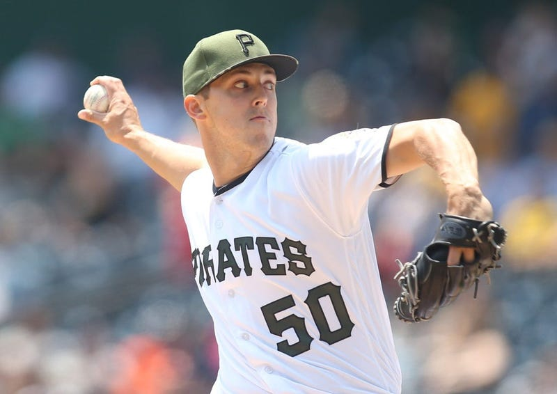 Jameson Taillon pitching