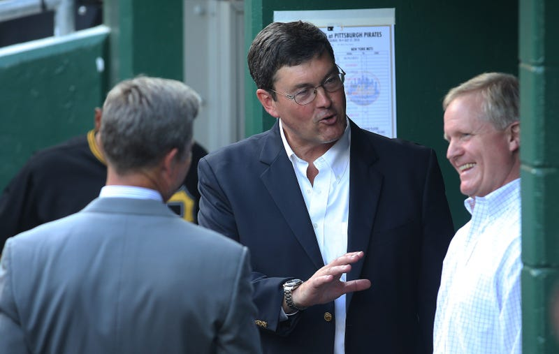 Frank Coonelly, Bob Nutting, Neal Huntington
