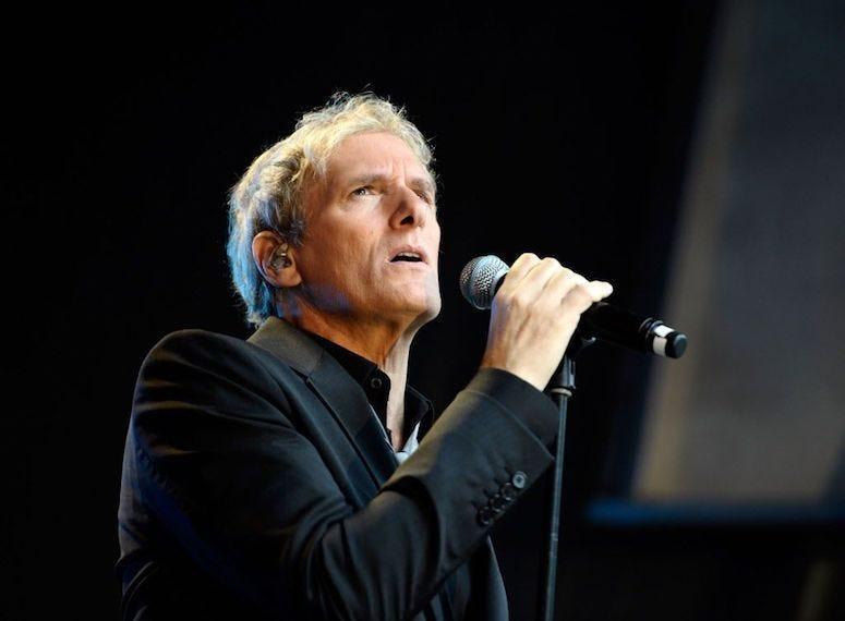 Michael Bolton, Concert, Singing, Black Shirt, 2018