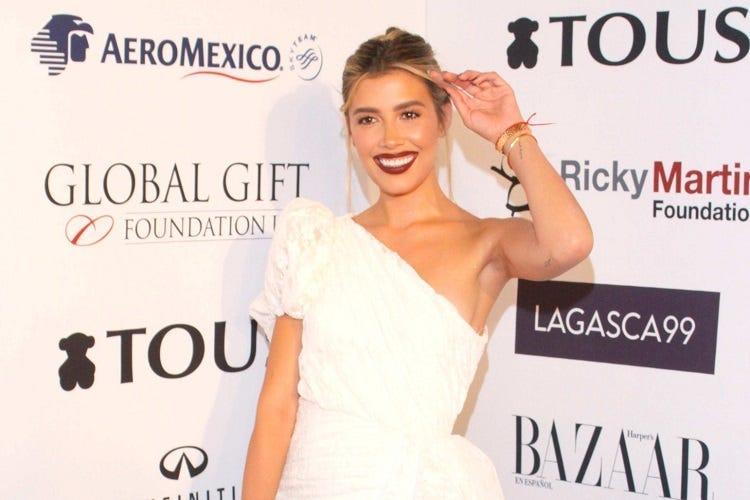 Michelle Salas en la alfombra roja de la cuarta edici n de Global Gift Gala en la Ciudad de M xico el mi rcoles 3 de octubre de 2018. Michelle Salas Lavoz Michelle Salas en la alfombra roja de la cuarta edicion de Global Gift Gala en la Ciudad de Mexico