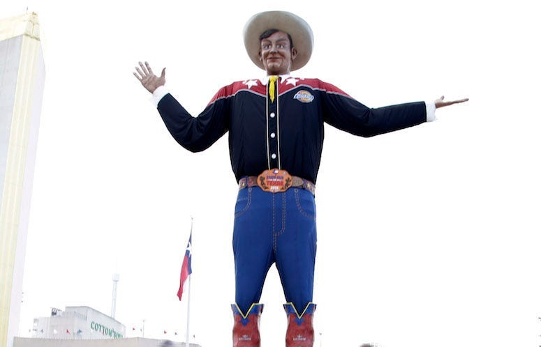 Big Tex, State Fair of Texas, Texas, OU, 2018