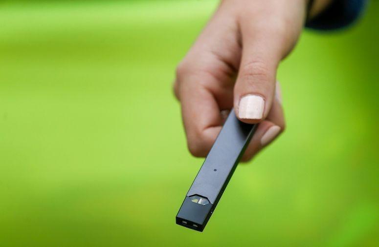 Woman, Juul, Vape Pen, E-Cigarette