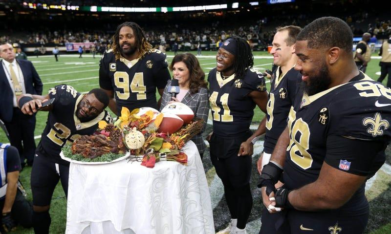 Saints on Thanksgiving