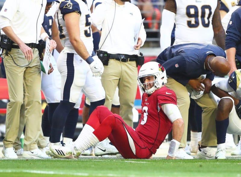 Former Cardinals quarterback Josh Rosen