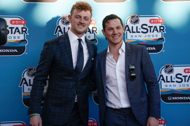 Jack Eichel and Jeff Skinner