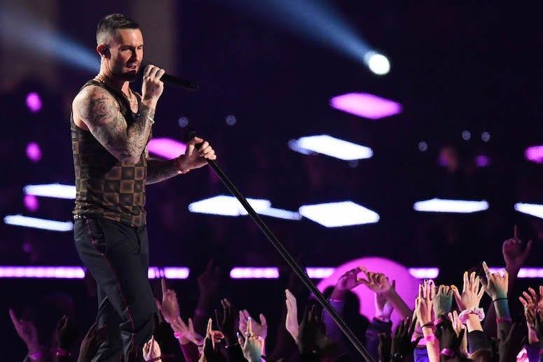 Adam Levine, Maroon 5, Super Bowl LIII, Halftime Performance