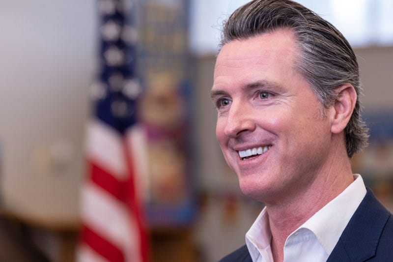 California Governor Gavin Newsom made a surprise visit to Riverview Elementary School in Parlier, Calif. on Wednesday, February 13, 2019.