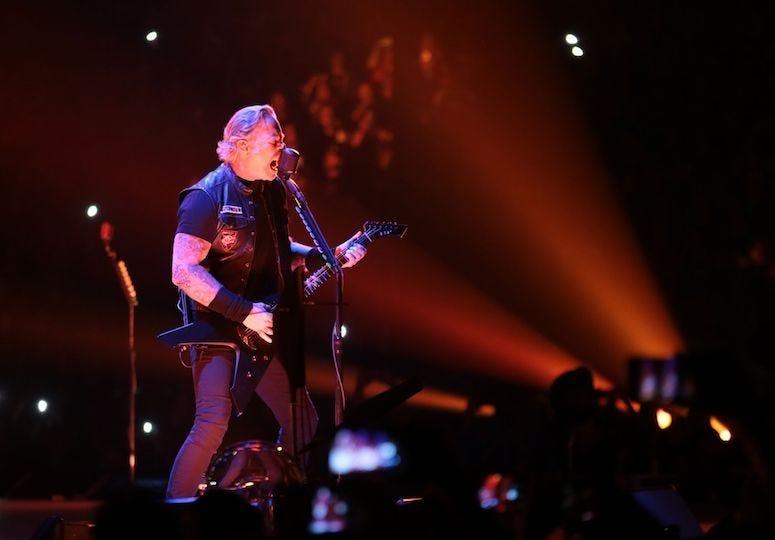 James Hetfield, Metallica, Singing, Concert, El Paso, Don Haskins Center, 2019