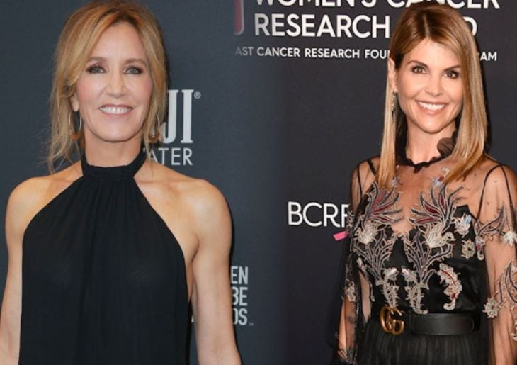 Lori Loughlin, Felicity Huffman charged in college bribe scandal Vpclife Celeb College Bribe