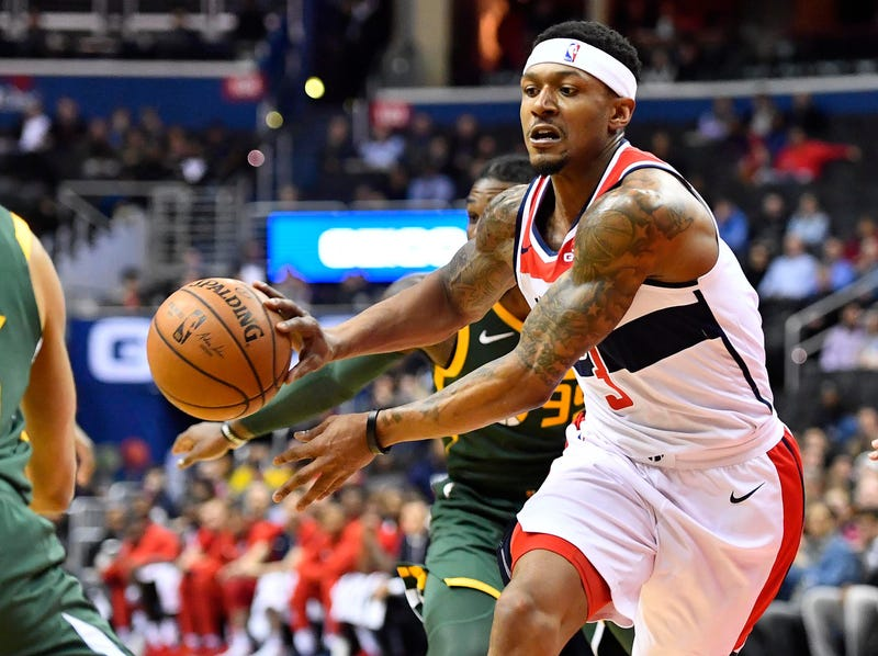 Wizards coach dismisses claims of overworking Bradley Beal