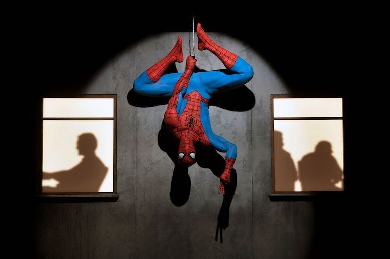 Spider-Man, Display, Art Exhibit, Marvel: Universe of Super Heroes, 2019