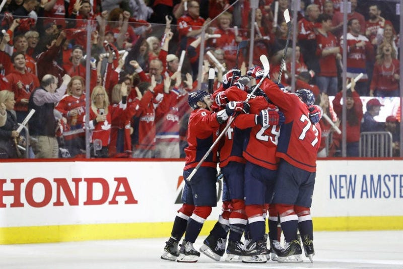 Capitals take a 2-0 series lead over the Hurricanes.