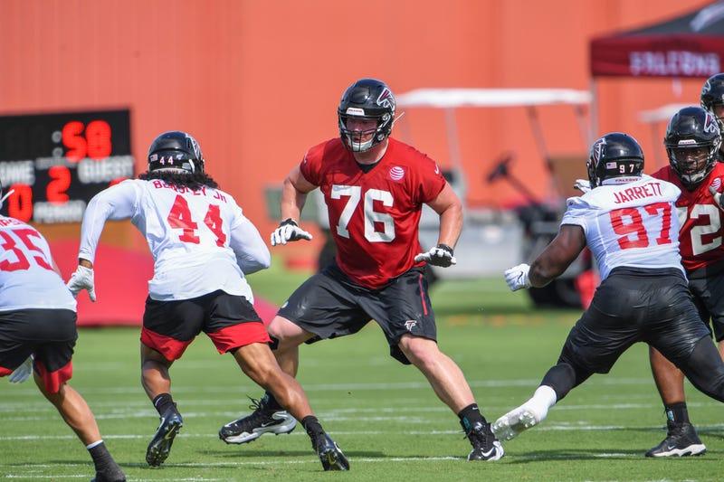 Atlanta Falcons Right Tackle Kaleb McGary