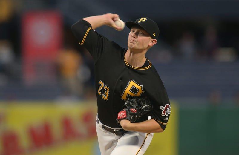 Pittsburgh Pirates starting pitcher Mitch Keller