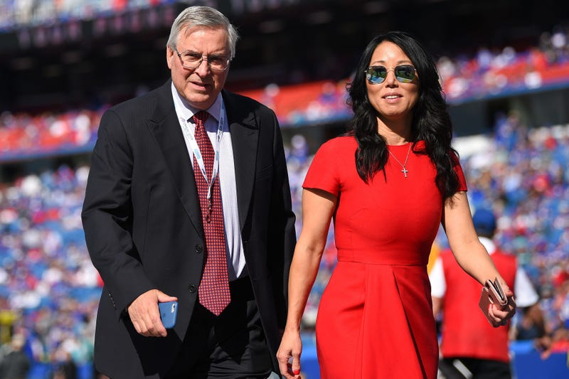Terry and Kim Pegula