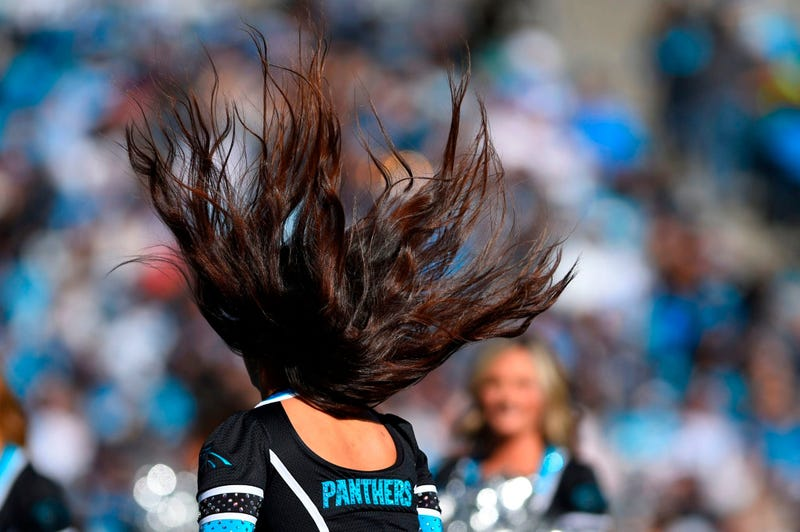 Nov 3, 2019; Charlotte, NC, USA; Carolina Panthers cheerleaders perform in the first quarter at Bank of America Stadium. Mandatory Credit: Bob Donnan-USA TODAY Sports