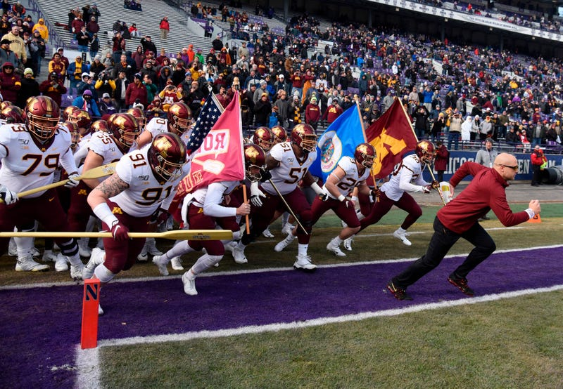 Gophers at Northwestern 6