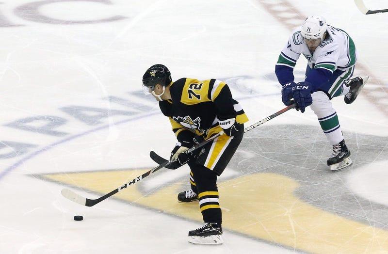 Penguins winger Patrick Hornqvist