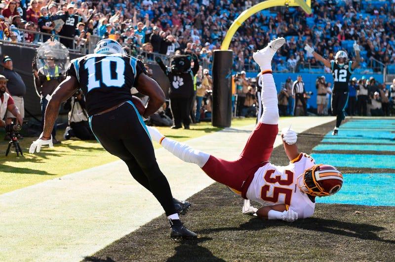 Curtis Samuel 1Q Touchdown-© Bob Donnan-USA TODAY Sports