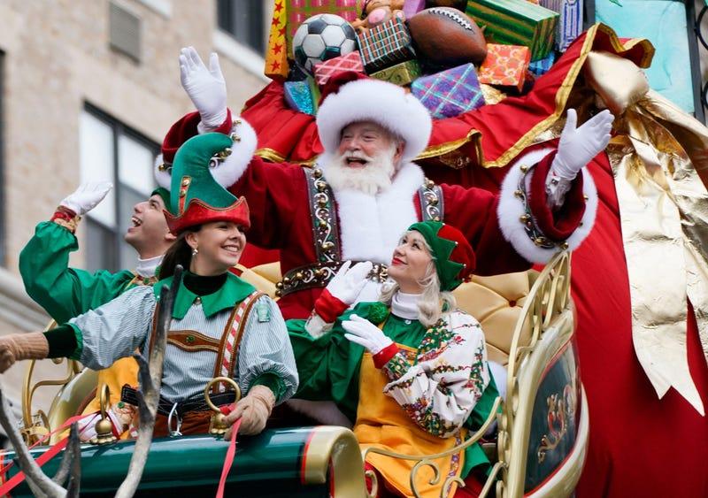 Macy's Parade Santa