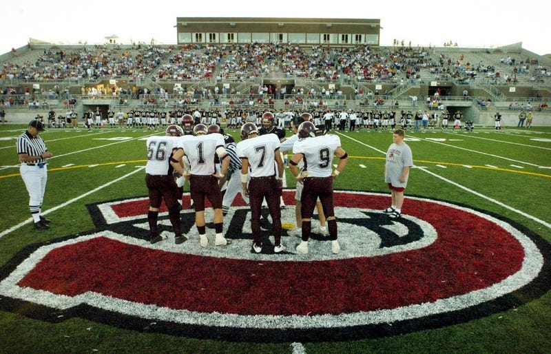 Clear skies and a slight breeze made for a perfect night as the St. Cloud State football team played their first game at Husky Stadium in 2004