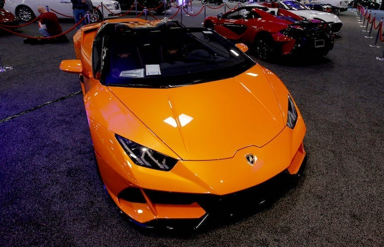 Lamborghini Huracan EVO, Suburban Collection Showplace, 2020