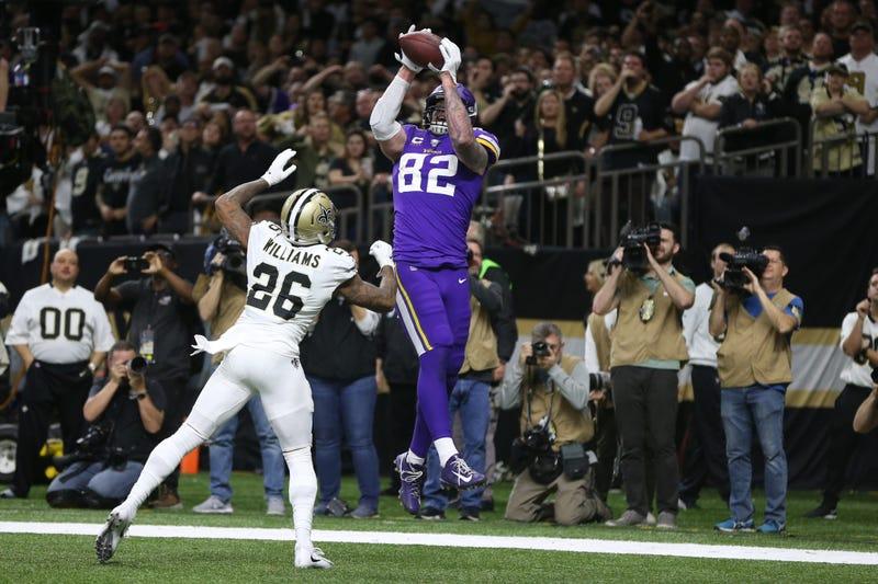 Saints lose to Vikings