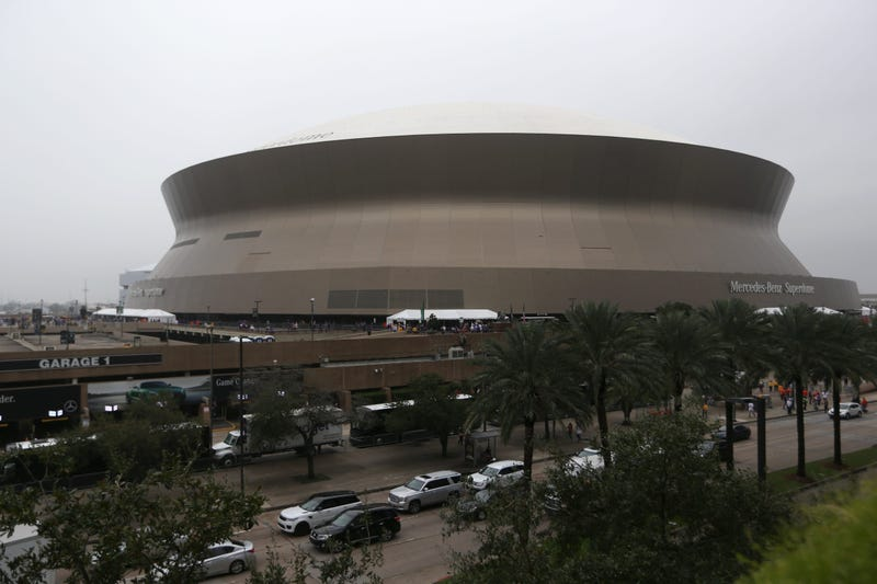 View of the Superdome