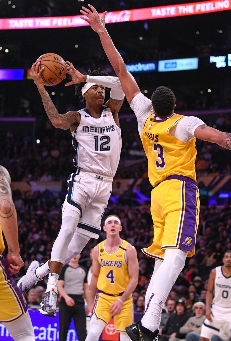 Morant Davis Grizzlies Lakers