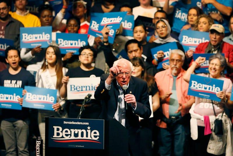 Democratic presidential candidate Bernie Sanders visits El Paso for rally Saturday, Feb. 22