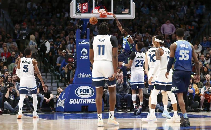 Minnesota Timberwolves at Dallas Mavericks