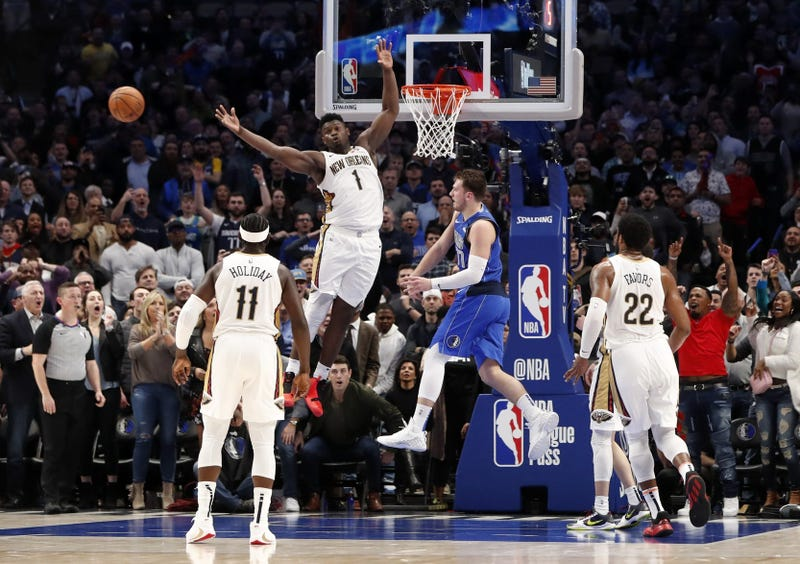 New Orleans Pelicans at Dallas Mavericks